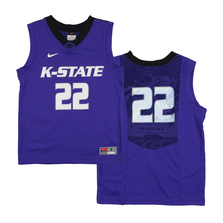 Nike NCAA Big Boys Youth Kansas State Wildcats # 22 Elite ...
