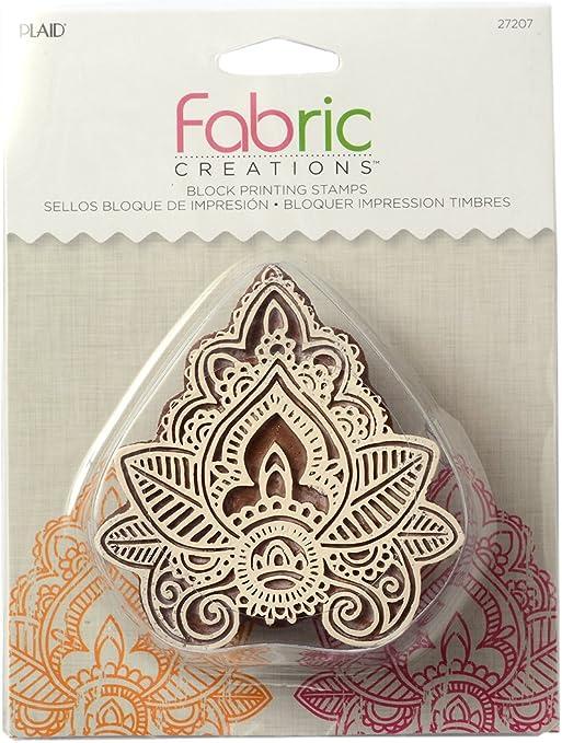 Amazon Com Fabric Creations Block Printing Stamps 27207 Medium