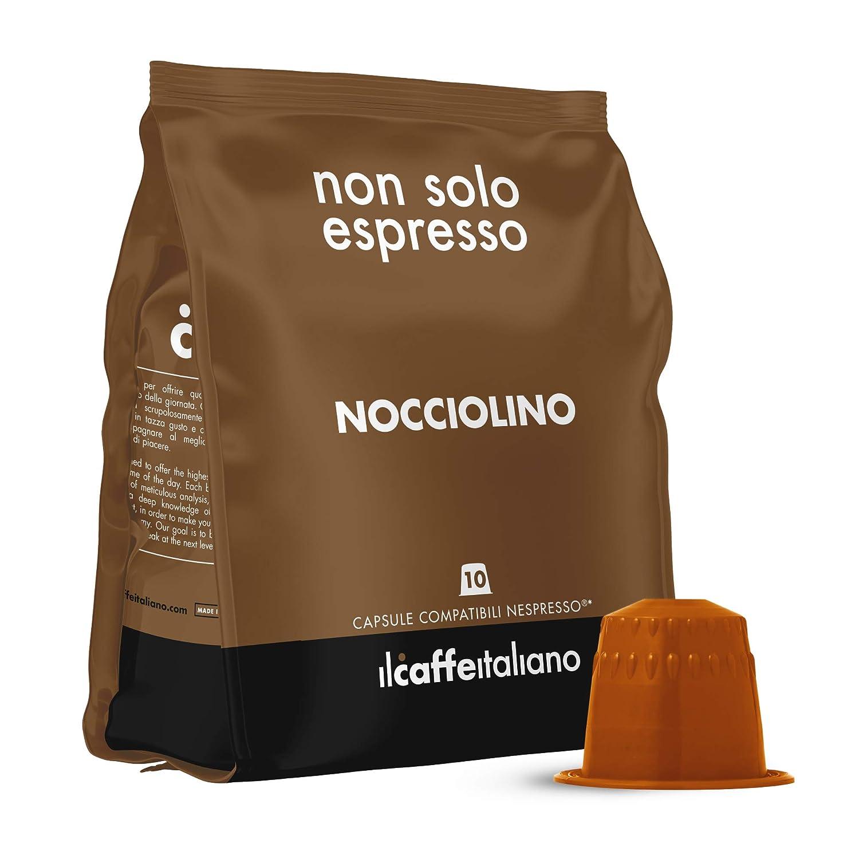 FRHOME - 50 Cápsulas compatibles Nespresso - Avellana - Il Caffè ...