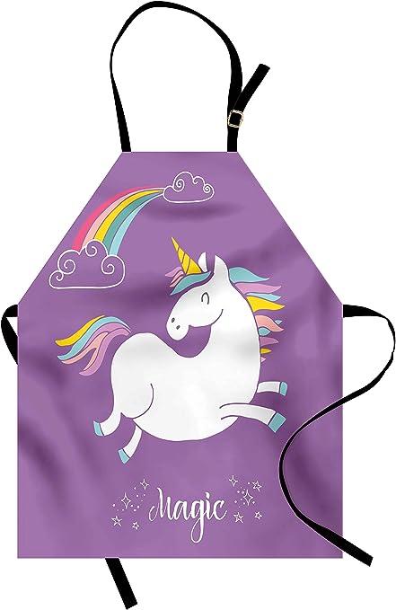 Cooking Apron Pastel Rainbow Apron Kitchen Apron Pastel Pastel Rainbow Apron Unicorn Apron Baking Apron Grilling Apron Cute Aprons