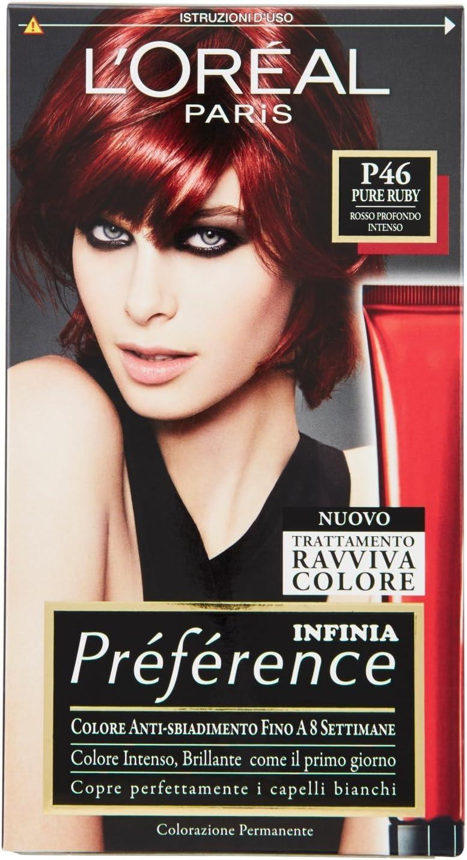 PREFERENCE P46 rosso profondo intenso - Tintes para el ...