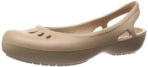 8179af46e6e7 crocs Malindia - Pantalón Plano para Mujer: Amazon.com.mx: Ropa ...