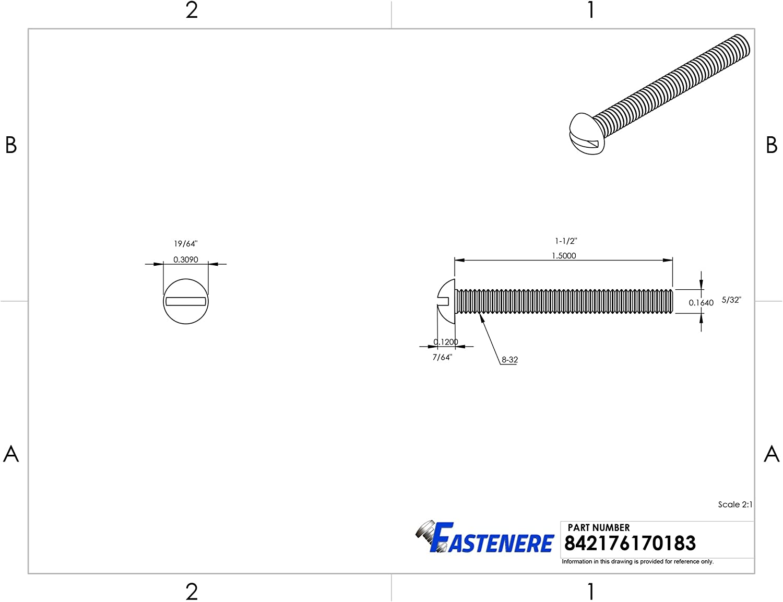 Plain Finish Full Thread Slotted Drive Solid Brass Grade 360 Quantity 10 Machine Thread 1//4-20 x 4 Round Head Machine Screws