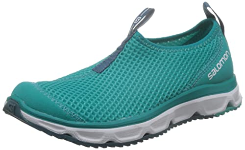 Salomon RX Moc 3.0 W, Zapatillas de Trail Running para Mujer, (Ceramic/White/Mallard Blue), 36 EU: Amazon.es: Zapatos y complementos