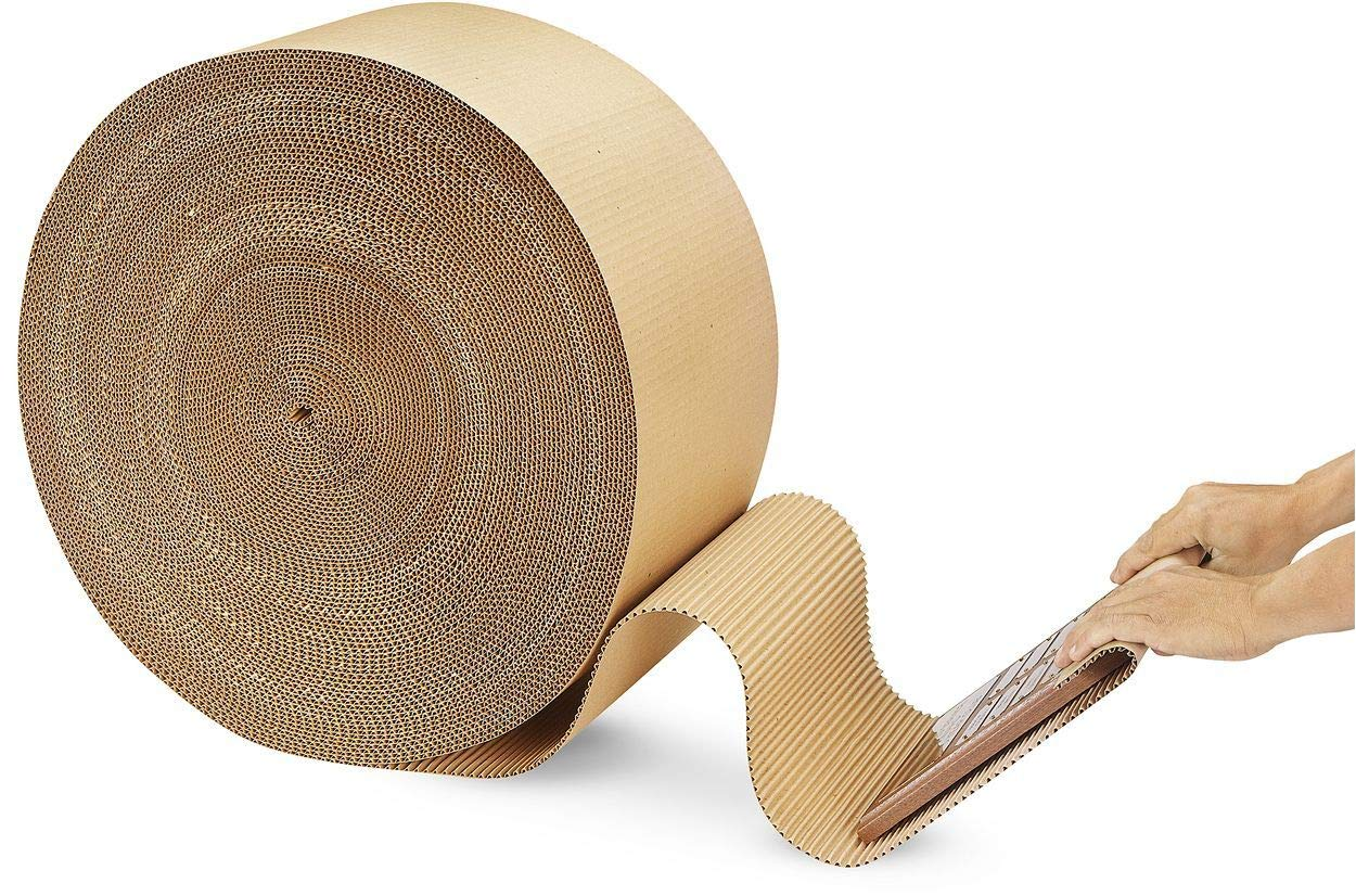 **Multi Sizes** Corrugated Cardboard Paper Rolls Quality Strong Thick ROLL