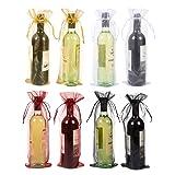 Wine Organza Bags - 24-Pack Drawstring Wine