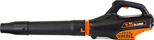 WEN 40410 40V Max Lithium-Ion 480 CFM Brushless Leaf Blower with 2Ah Battery Charger