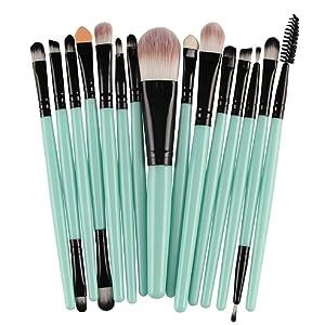 Make Up Brush Set, TONSEE 15 Pcs/set Makeup Brush Set Tools