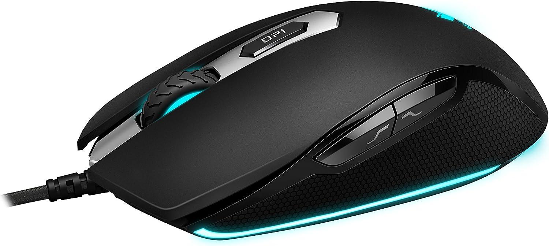 Rapoo Vpro V210 Beleuchtete Gaming Maus Schwarz Computer Zubehör