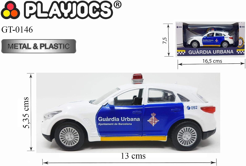 PLAYJOCS Coche Guardia Urbana GT-0146: Amazon.es: Juguetes y juegos
