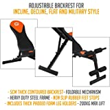 Gallant Weight Bench INCLINE DECLINE FLAT ABS Adjustable Dumbbell Lifting Ab Crunch Exercise FREE NEXT DAY EXPRESS DELIVERY