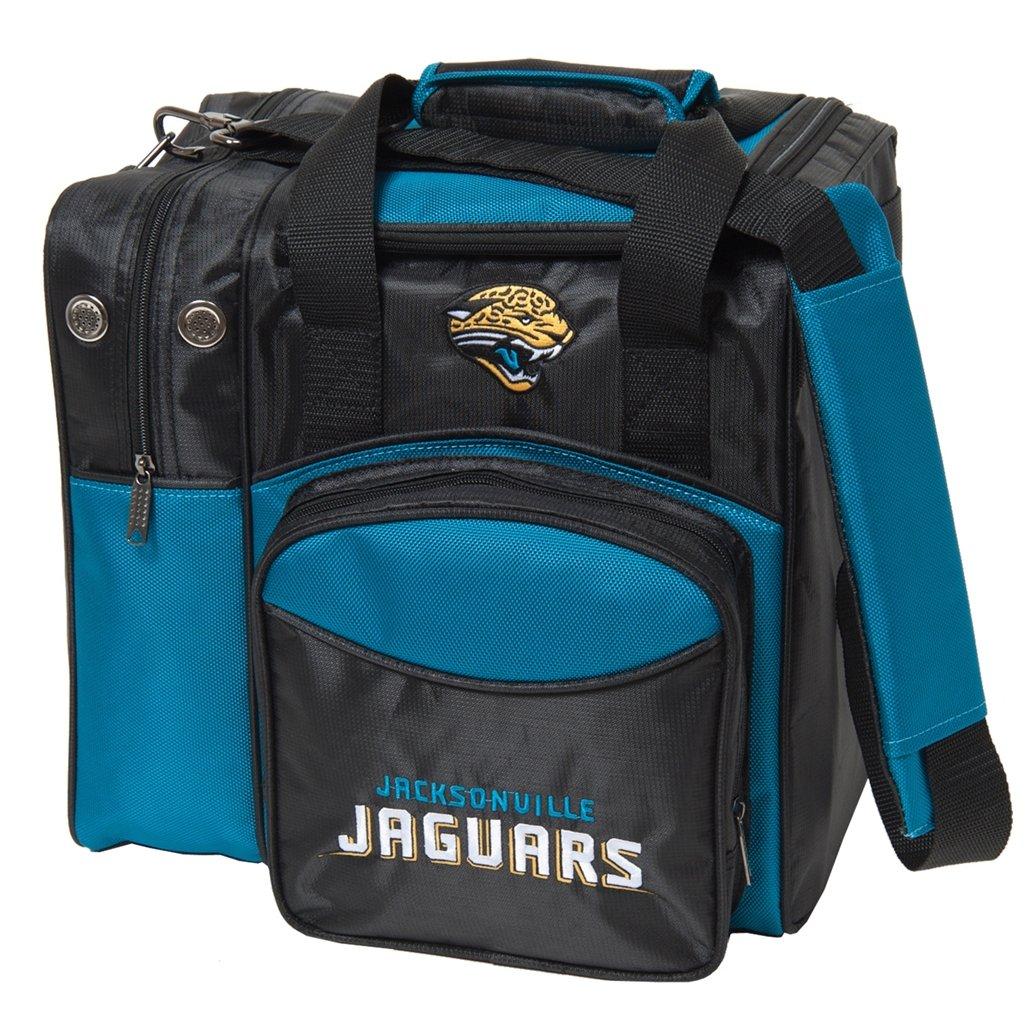 【人気急上昇】 KR Strikeforce Jacksonville Jaguars B0159FTNQ2 Jacksonville シングルボーリングバッグ Strikeforce マルチカラー B0159FTNQ2, 大洲市:921c3b25 --- berkultura.ru