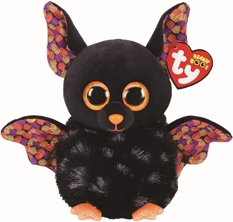 15cm Multicoloured TY UK Ltd 36236 Spike Ghost Halloween 2020 Plush Toy