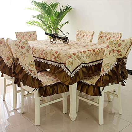 Stupendous Amazon Com Zghafbes Fashion Dining Table Cloth Chair Covers Inzonedesignstudio Interior Chair Design Inzonedesignstudiocom