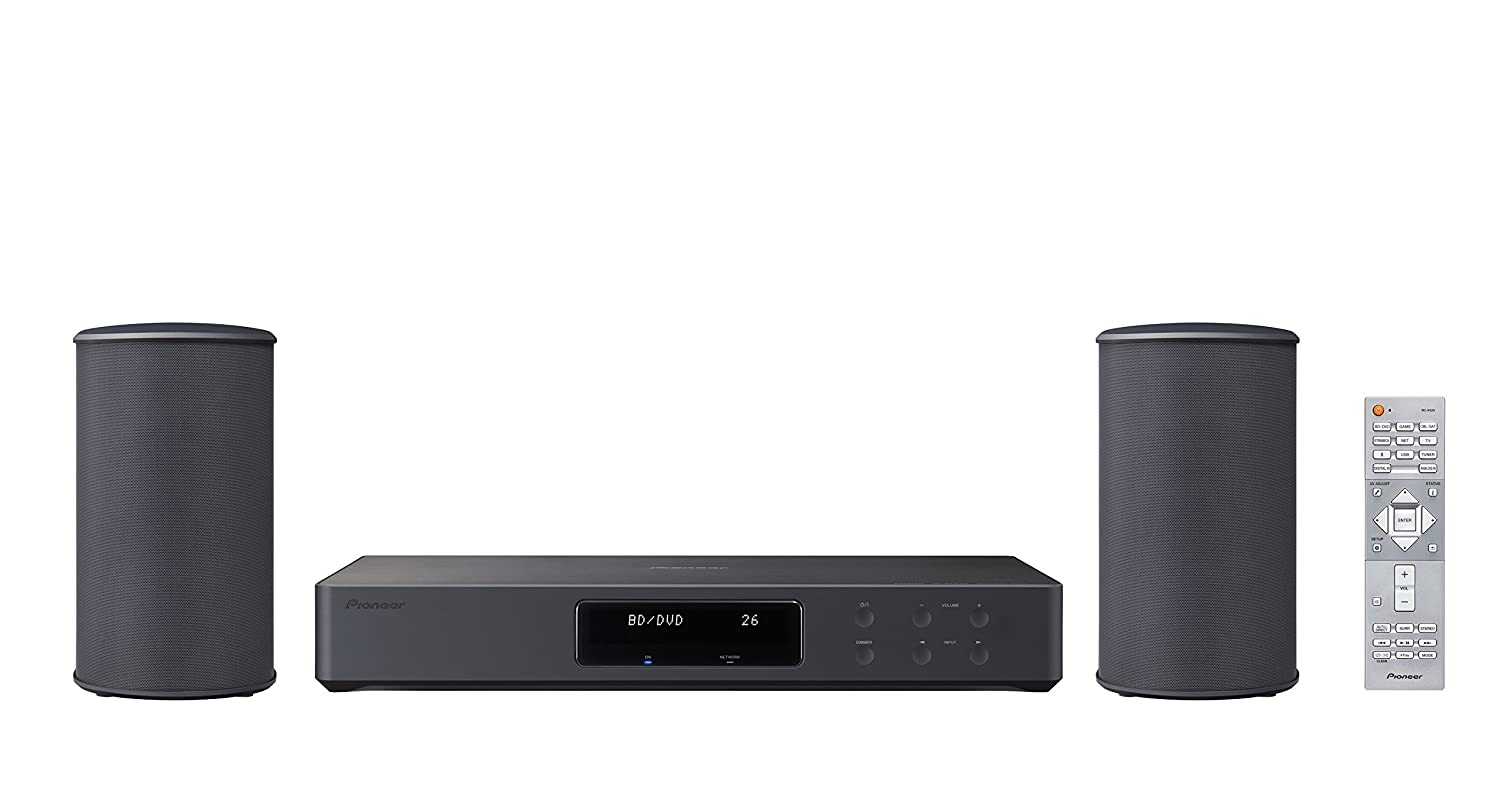 Pioneer FS-W40(B) - Sistema inalámbrico (WiFi de Doble Banda, Bluetooth, AirPlay, Chromecast, HDMI, UltraHD) Color Negro