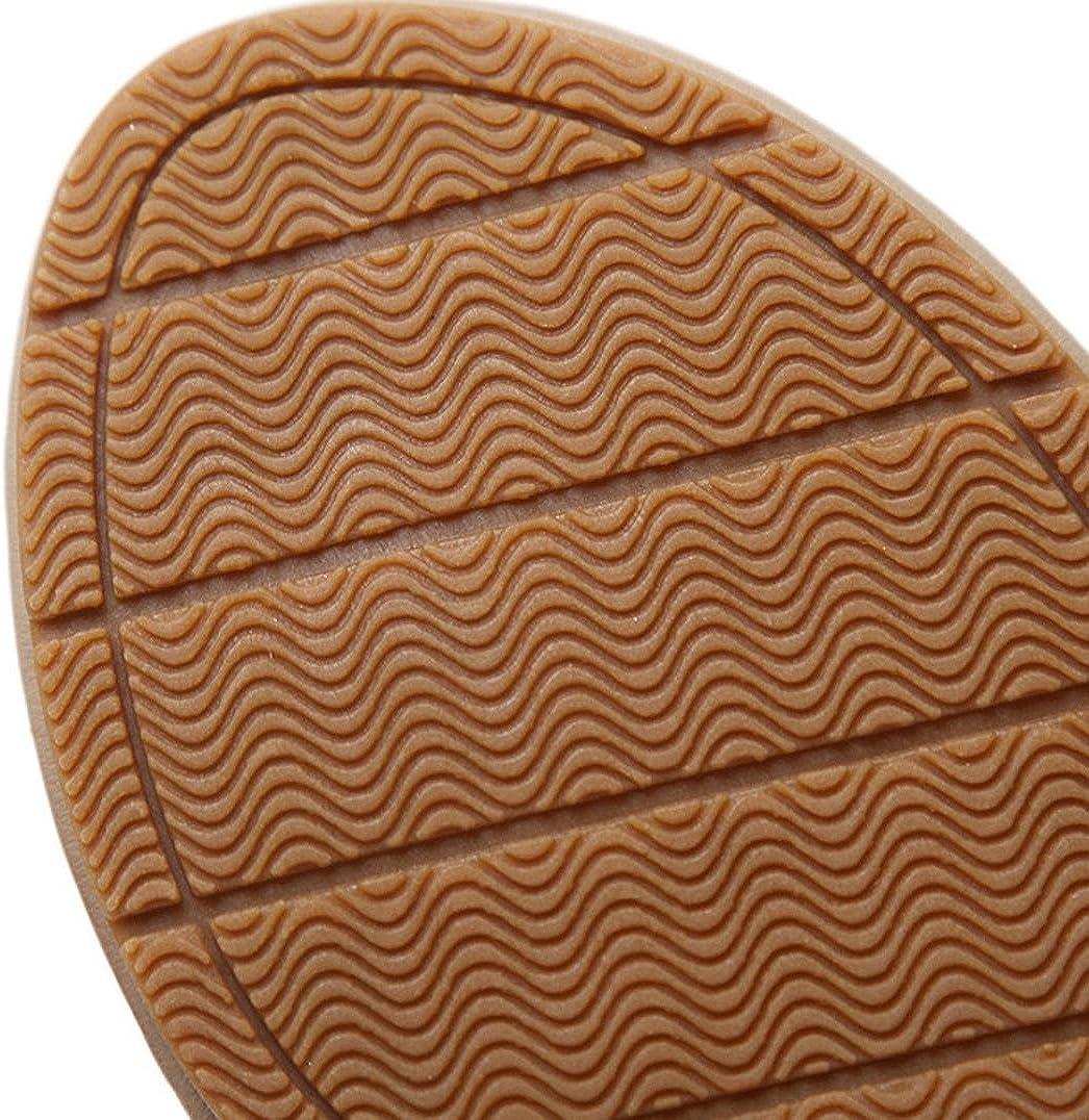 Goodtrade8 Bohemia Flat Thong Sandals for Women T-Strap Gladiator Flip-Flop Summer
