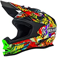 Casco MX ONeal 2018 7Series Evo Crank Negro-Multi