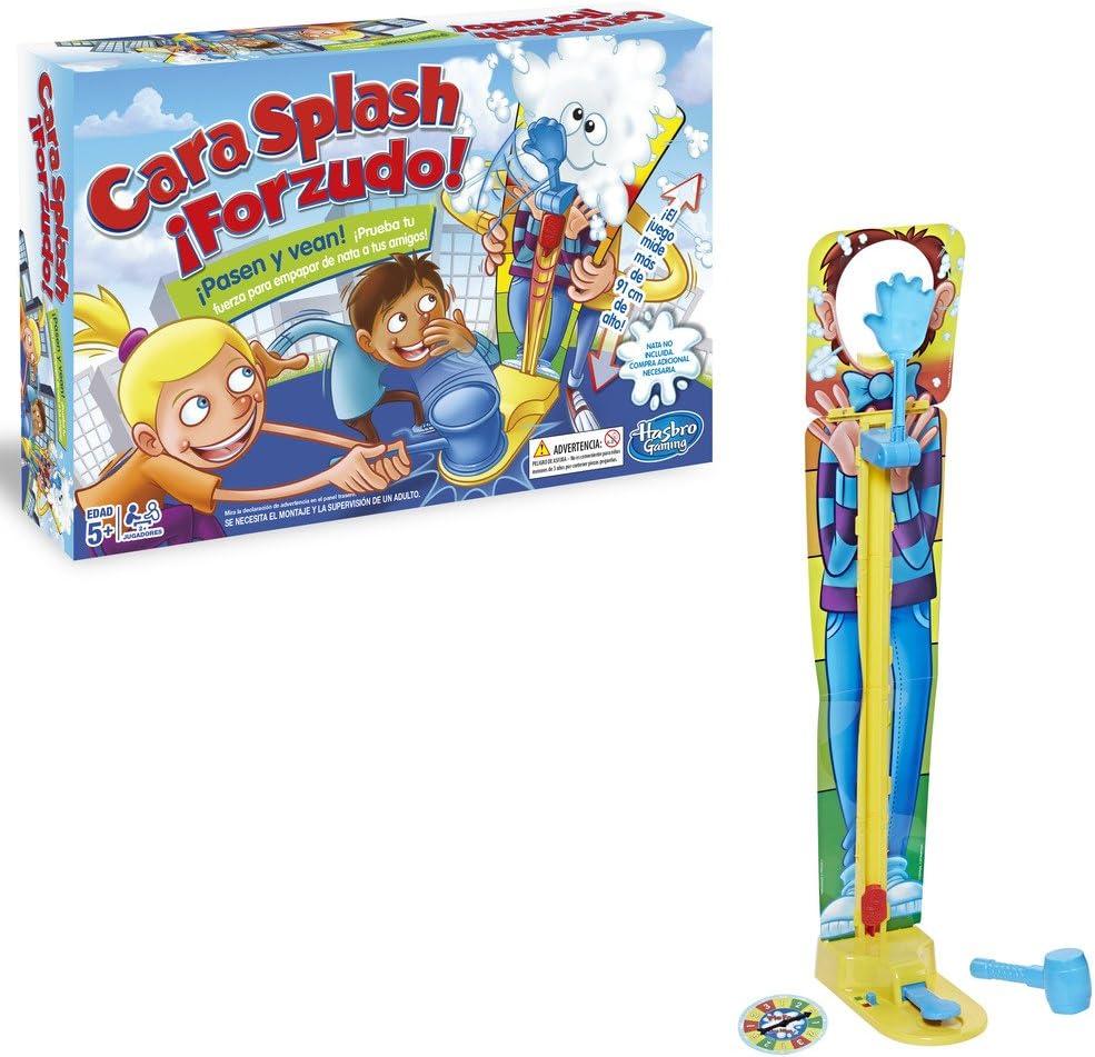 Hasbro Gaming- Juego de Mesa Cara Splash Forzudo (C2130105): Amazon.es: Juguetes y juegos
