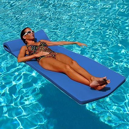blue swimming float