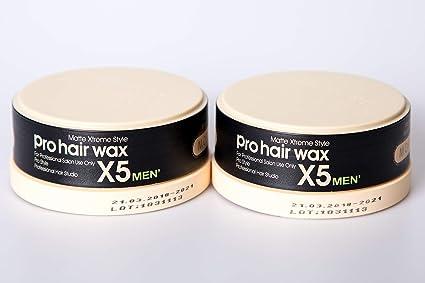 2x Morfose Pro Hair Haar Wax X5 Matte Xtreme Style 2x 150ml Haarwachs Matt Styling Wachs Hair Wax Mat Natürliches aussehen Me