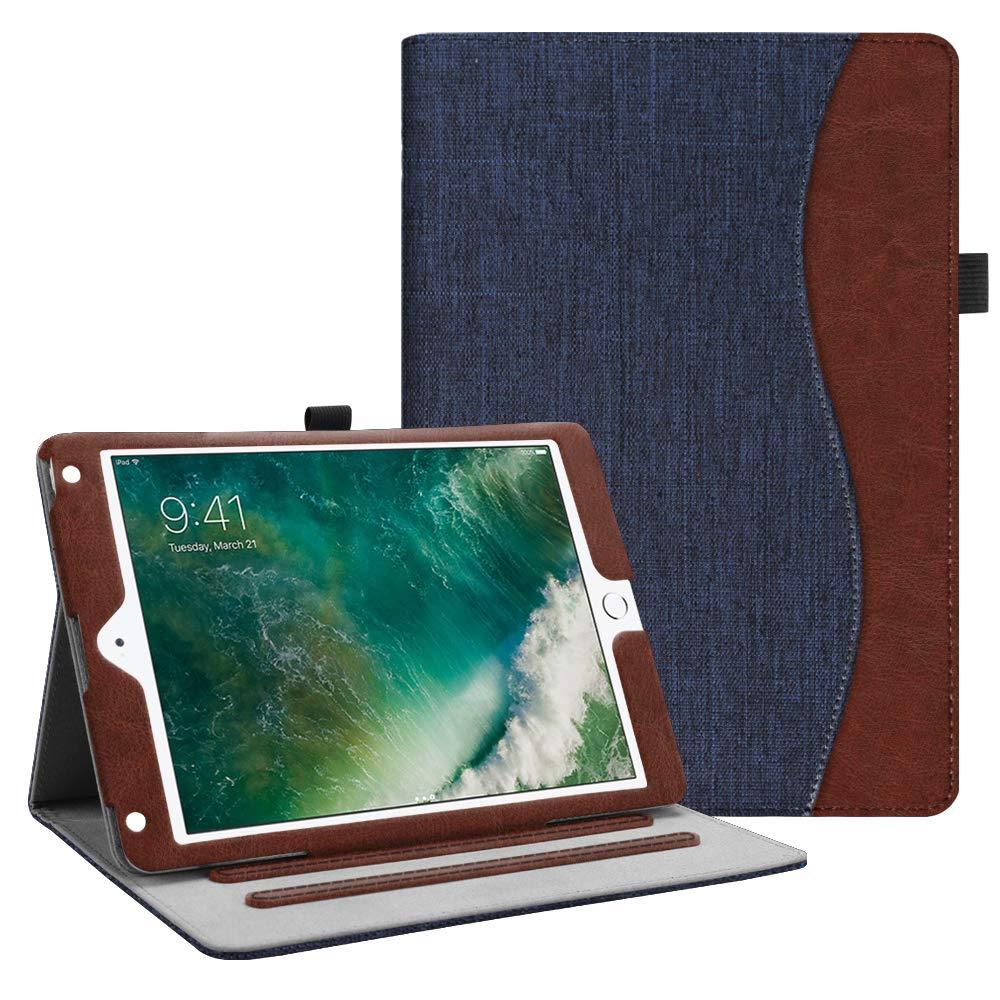 安い購入 Fintie iPad iPad 9.7インチ用 ケース [角部保護] Inch 2つ折り スタンドカバー 9.7インチ用 複数の視聴角度 ポケット付き 自動スリープ/スリープ解除機能 対応機種: Apple iPad 2017年モデル iPad Air 1 2 9.7 Inch EPF0419US ZC-Denim Indigo B075M9MJ3Q, e-Bagshop:b9c64a61 --- a0267596.xsph.ru