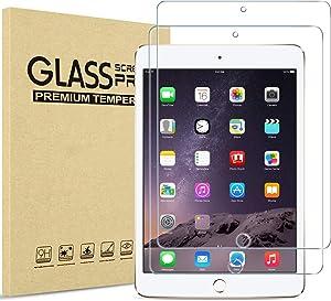 "ProCase iPad Mini 1 2 3 Screen Protectors, Tempered Glass Screen Film Guard Screen Protector for 7.9"" Apple iPad Mini, Mini 2, Mini 3-2 Pack"