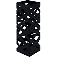 HAKU Furniture 26329,portaombrelli, colore: nero, 16x 16x 48cm (larghezza x profondità x altezza)