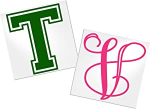 Single Letter Decal for Tumbler, Your Choice of Color & Style   Decals by ADavis