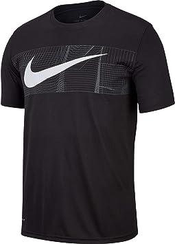 NIKE M Nk Dry tee Leg Swh + Block Camiseta, Hombre: Amazon.es: Deportes y aire libre
