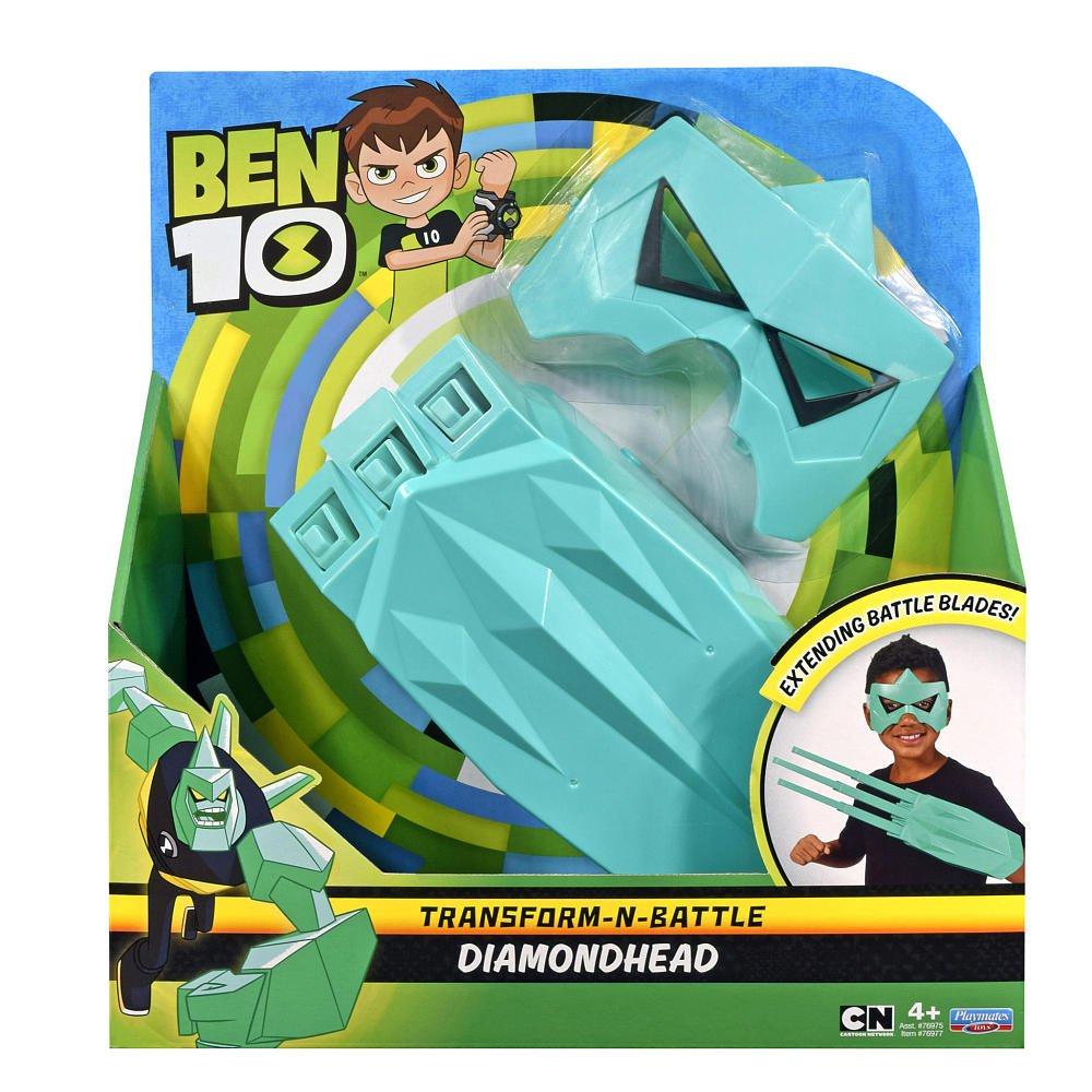 Ben 10 Battle Gauntlet and Mask Bundle Hero Play - Diamondhead