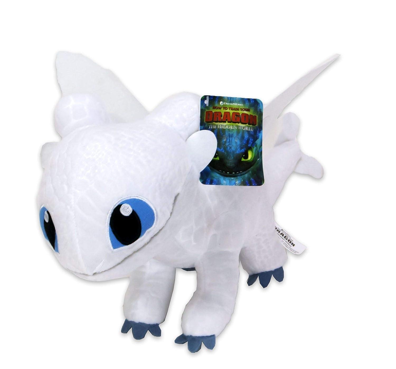 Dragón de Dreamworks blanco de