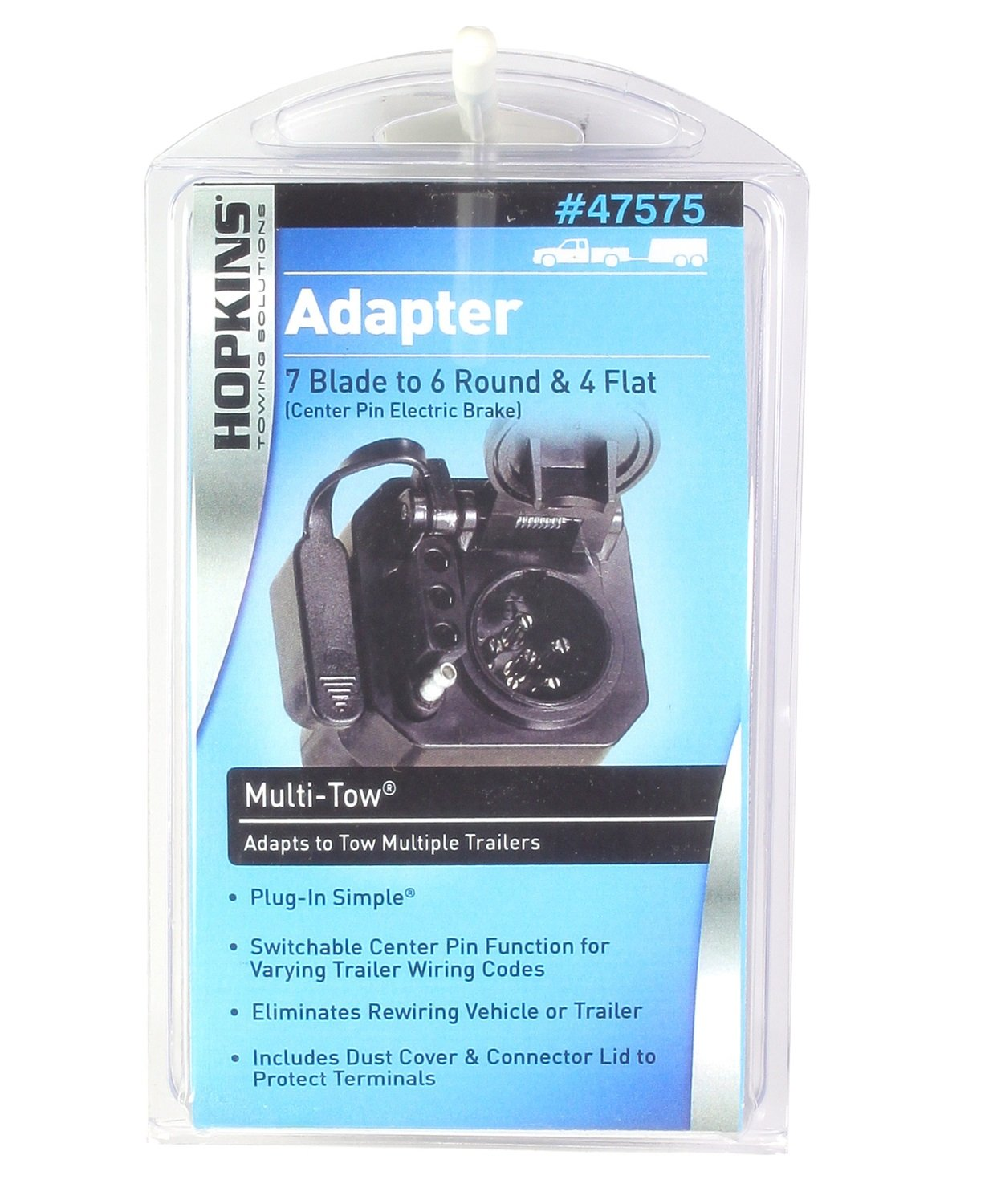 Amazon.com: Hopkins 47575 Multi-Tow Adapter: Automotive