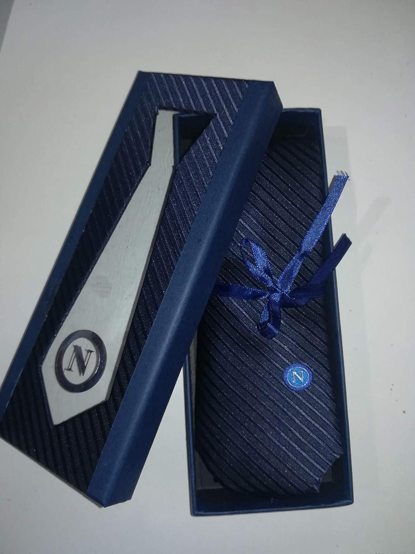 Enzo Castellano - Corbata regimental ssc napoli azul 7 x 148 cm ...