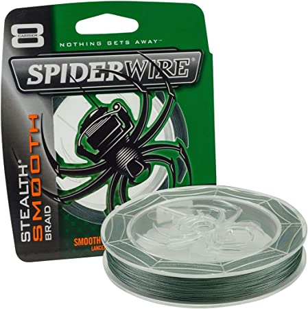 Stealth Glatt 8 Spiderwire Stlth Angelschnur Ultracast 300 M Moosgr/ün