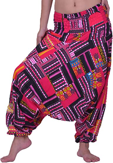 Harem Pants Elephant Pants Hippie Purple Yoga Festival Aladdin Gypsy Loose Boho