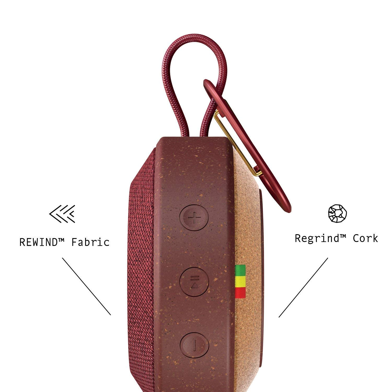 The House Of Marley Em-Ja015-Rd Altavoz Bluetooth Impermeable De Exterior, Rojo: Amazon.es: Electrónica