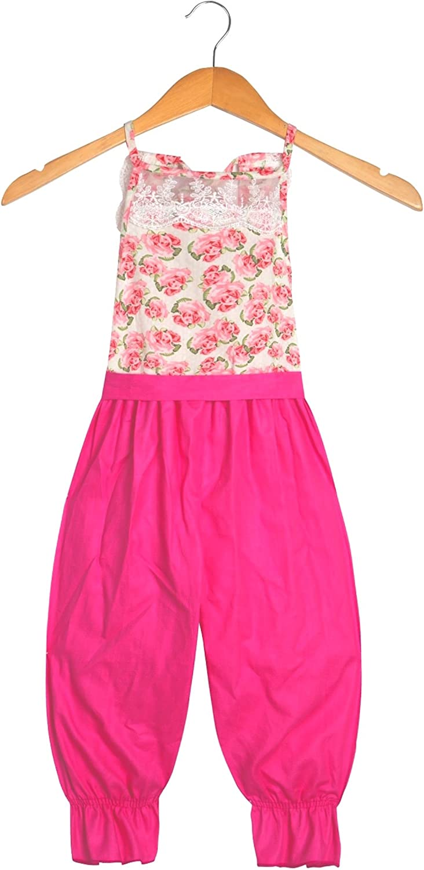 Unique Baby Girls Lace Jumpsuit Summer Outfit