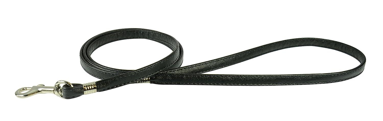 Evans Collars Flat Lead, 4', Vinyl, Black