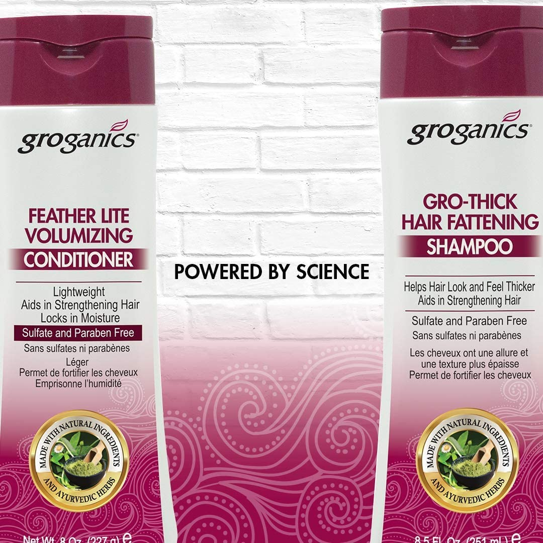 groganics growthick pelo engorde Champú 235 ml: Amazon.es: Belleza