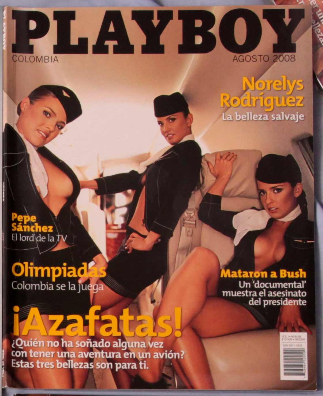 Colombia Playboy Brand New August 2008 Hot Colombian Chicas Playmates