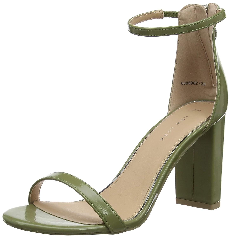 Scarpe con Cinturino alla Caviglia Donna New Look Pan