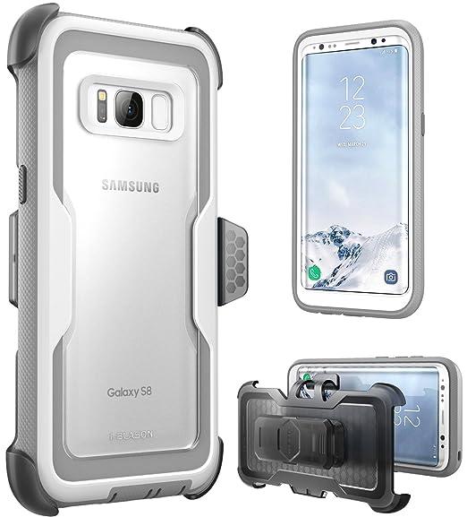 10 opinioni per Cover per Samsung Galaxy S8 ( 2017 ), Protezione Slim i-Blason Armorbox [Heavy