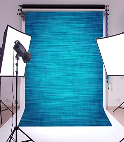Amazoncom Laeacco 3x5ft Vinyl Backdrop Elegant Blue