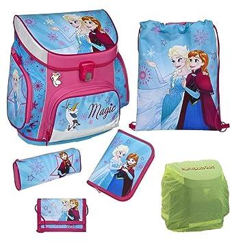 b5bd1a26664c2 Disney die Eiskönigin Schulranzen-Set 6tlg. Scooli Campus Up Frozen Magic  mit Federmappe und