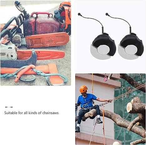 Ounona - 2 tapones, para aceite y depósito de gasolina, para la sierra de cadena Stihl MS171 MS181 MS200 MS210 MS200T MS211 MS192 MS192T MS230 MS240 ...
