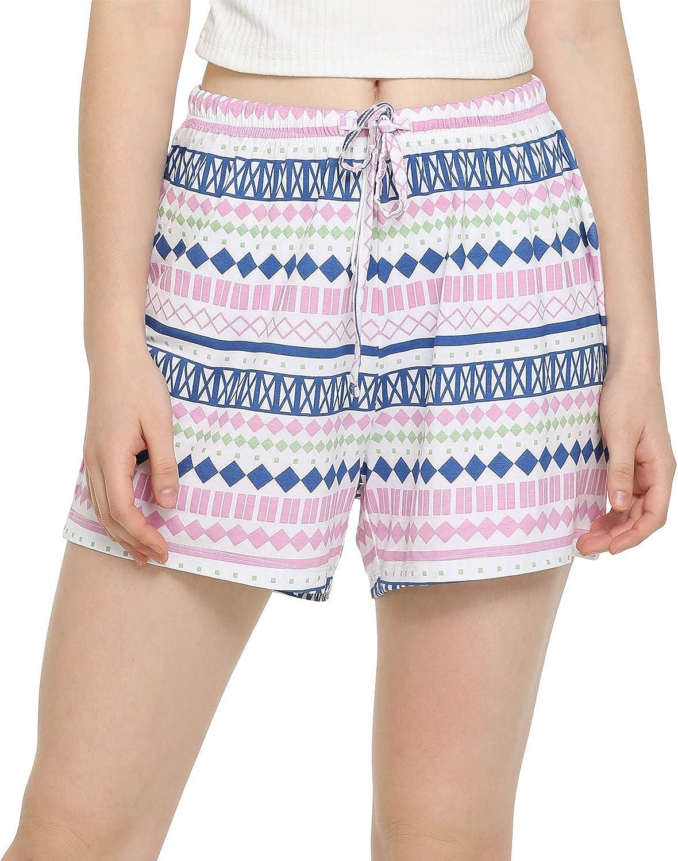 Carnival GYS Womens Bamboo Drawstring Pajama Shorts