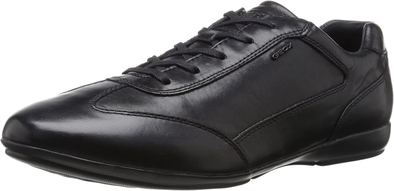 Geox U Efrem A, Zapatos de Cordones Oxford para Hombre