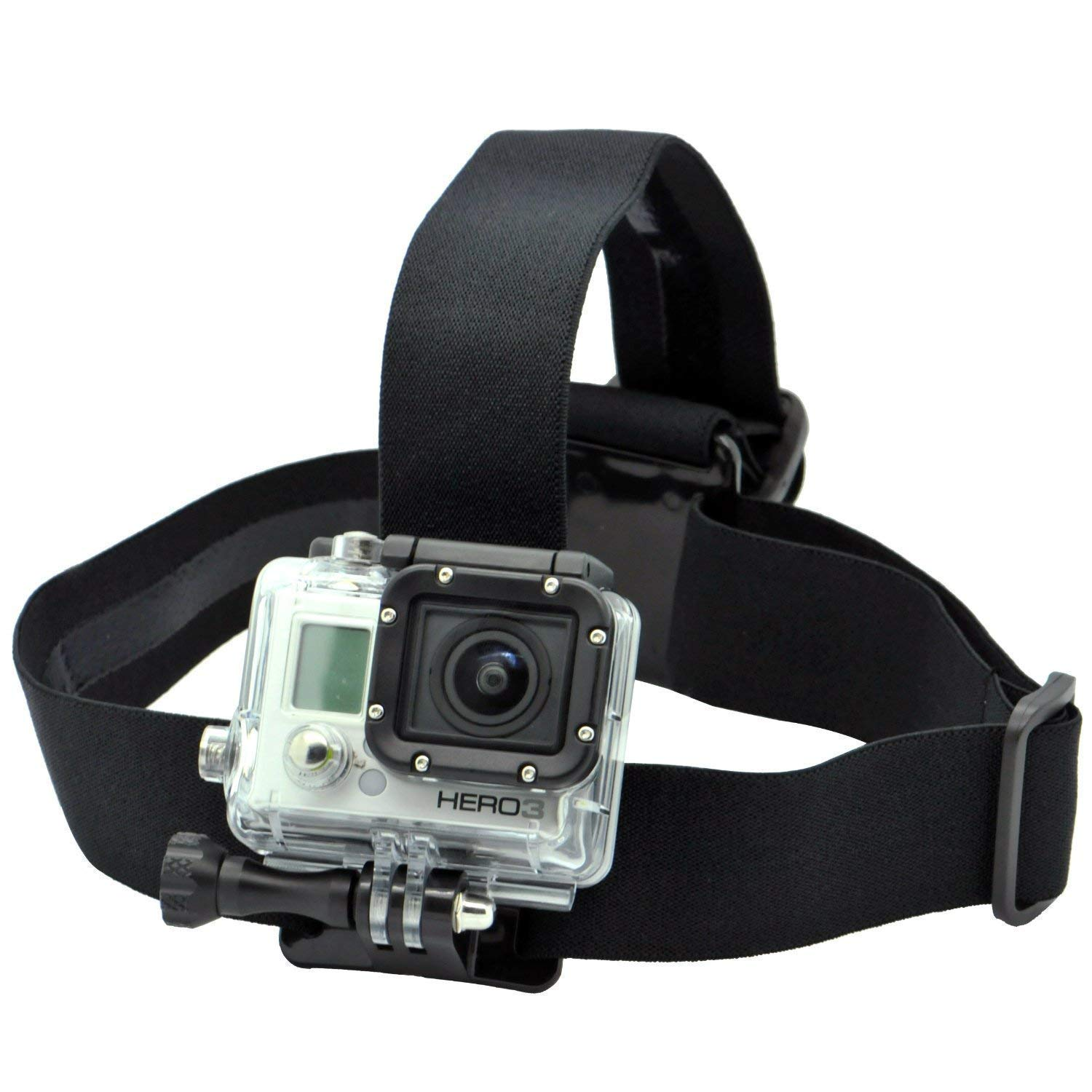 Multi-Function Adjustable Belt Cellphone Selfie Head Mount Strap for Sony Action Cam/Gopro Hero/Cell Phone/iPhone XR XS Max X 8 7 6 Plus/Samsung LG Huawei by Supkeyer