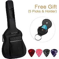 d71a7128f2 CAHAYA Guitar Bag [Upgraded Premium Version] for 41 42 Inch Acoustic Guitar  Gig Bag