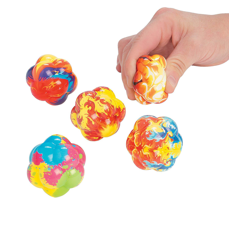 Fun Express - Atom Stress Ball - Toys - Balls - Relaxables - 12 Pieces by Fun Express